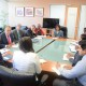 Minister Gopee-Scoon lead discussions with the Chilean delegation
