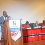 Mr. Theodore Reddock, Executive Director (Ag) Trinidad & Tobago Bureau of Standards - TTBS delivered the Opening Remarks