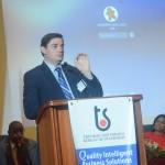 Mr. Ramon Madrinan, Mesopartner Team Member during his first presentation, NQI - Economic Impact