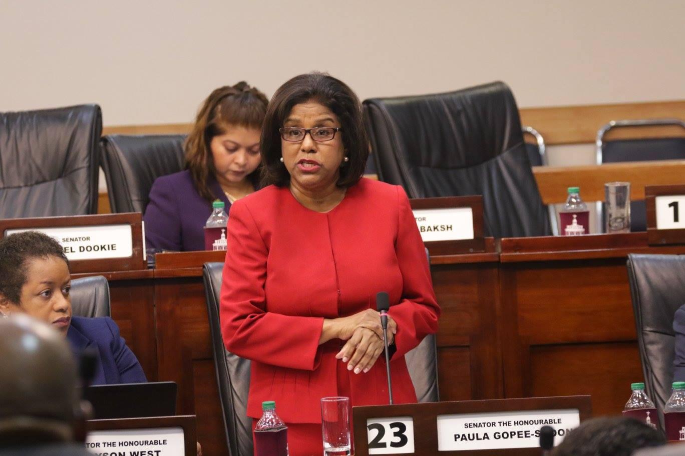 Photo Courtesy Parliament of Trinidad and tobago