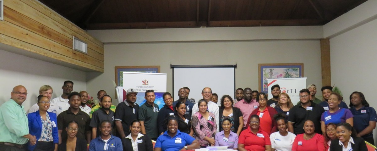 Cross-section of yachting stakeholders who participated in the training session