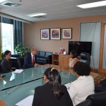 Trade and Industry Minister along with senior representatives of the Ministry met with Vice Minister of Foreign Affairs of the Republic of Cuba, His Excellency Rogelio Sierra Diaz