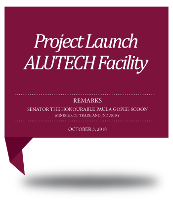 Project Launch ALUTECH Facility