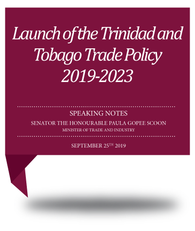 Christmas In July 2019 Trinidad.Speeches Archives Ministry Of Trade And Industryministry